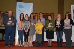 2014 Volunteers Grow Community Award Recipients